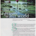 article about water gardens