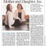 article about a mother and daughter working together