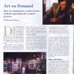 article about commissioning art work