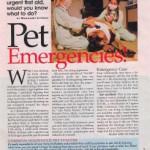 article about pet emergencies