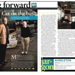 article about Celebrity Bus Driver's academy
