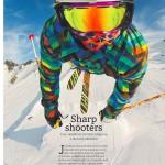 downhill ski jumper