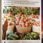 baskets of fresh produce