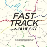 fast track in the blue sky