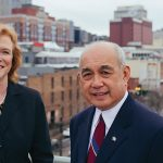 Anne Sams and Sergio Ora of Citizens Savings Bank and Trust Co. in downtown Nashville