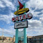 Lorraine Motel sign in Memphis