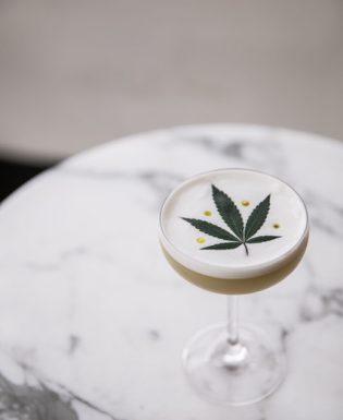 marijuana martini