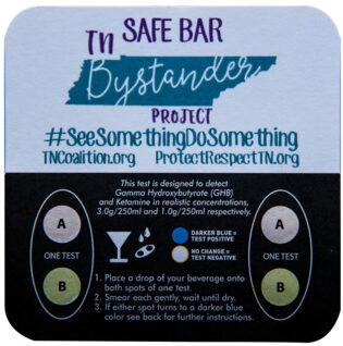 Safe Bar Bystander Coaster